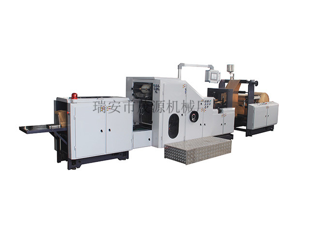 Features and uses of several paper bag machines