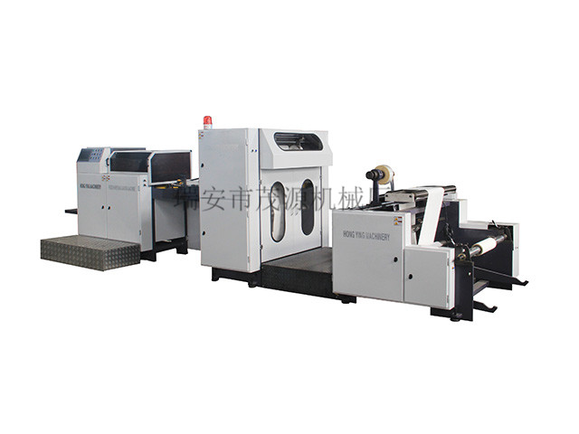 Is it feasible for the paper bag machine to enter the international market?