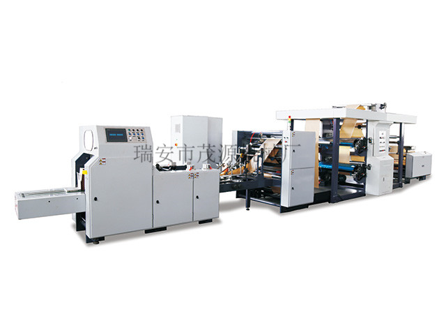 What are the steps of paper bag machine production