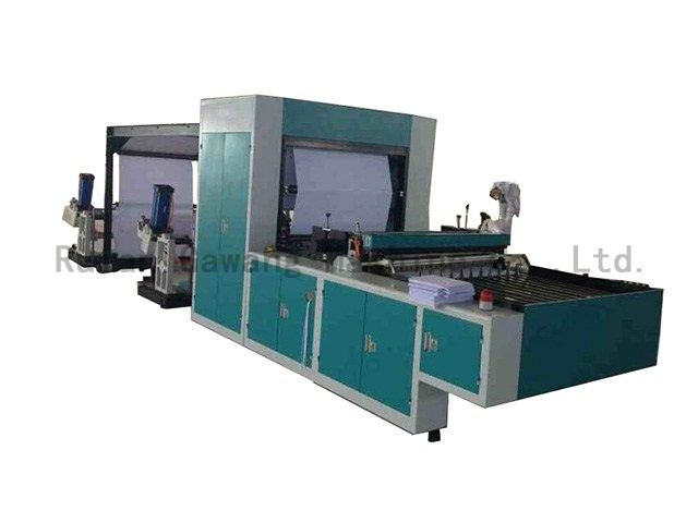 Full Automatic A4 Paper Cross Cutting Machine(Multi-Reel Feed)