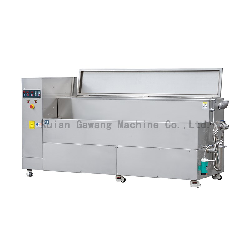 Double groove anilox roller cleaning machine