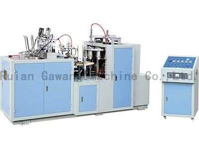 Ultrasonic Sealing Double PE Paper Cup Making Machine