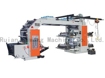 4 Color High Speed Printing Machine