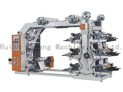 6 Color High Speed Printing Machine