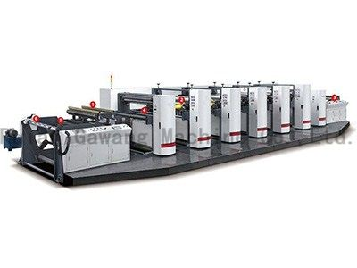 High Speed Flexo Printing Machine