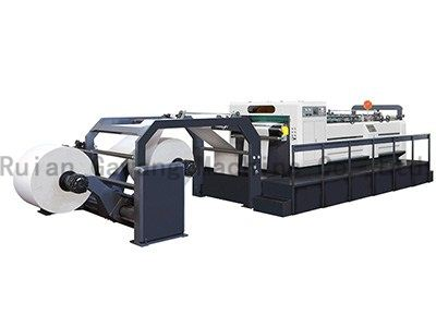 Double Roll Feeding Rotary Paper Cutting Machine