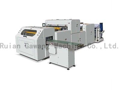 High-Precision Full Automatic A4 A3 Paper Cross Cutting Machine
